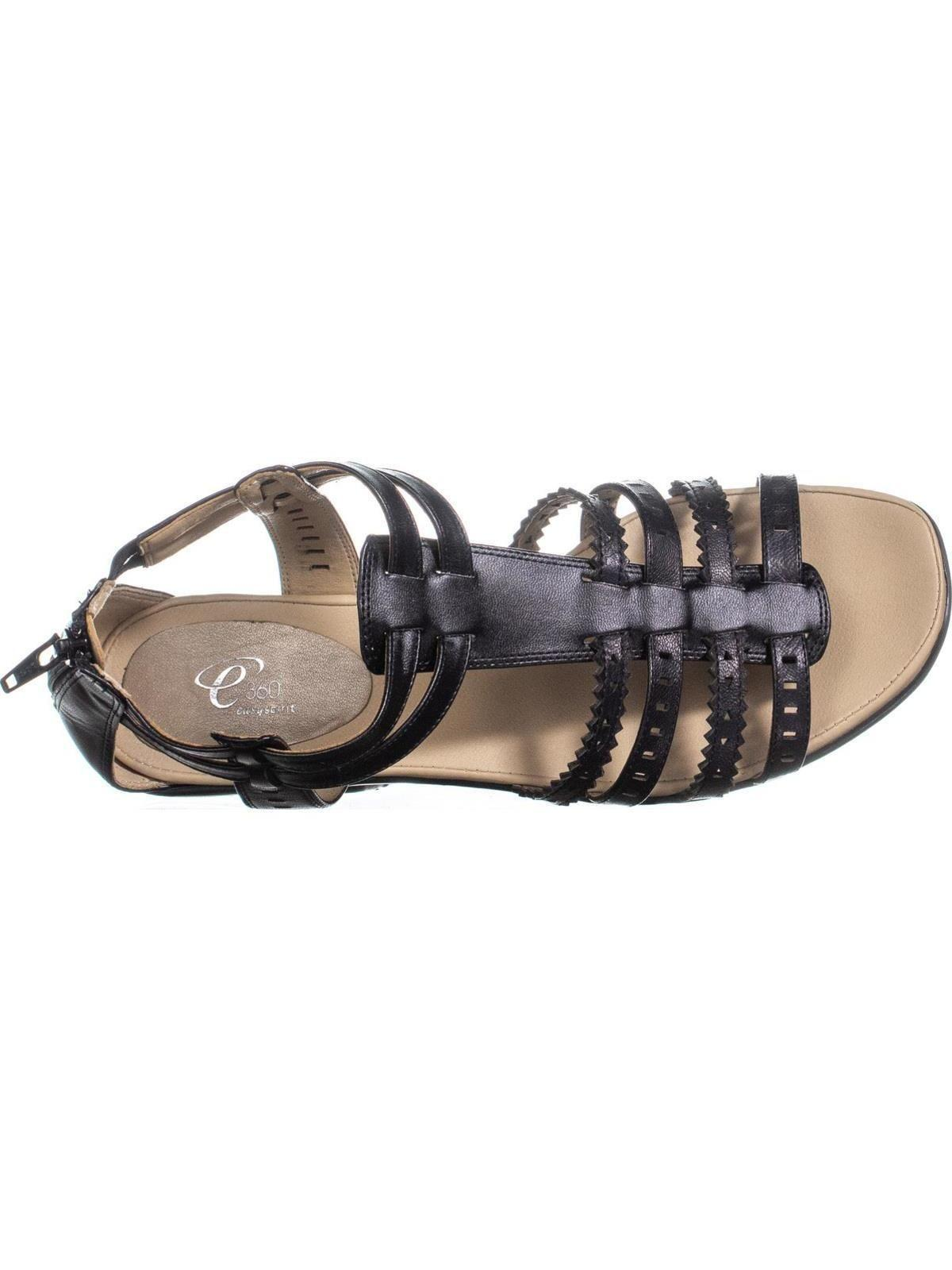 6f345cd8875b Lyst - Easy Spirit Karelly Gladiator Sandals in Black