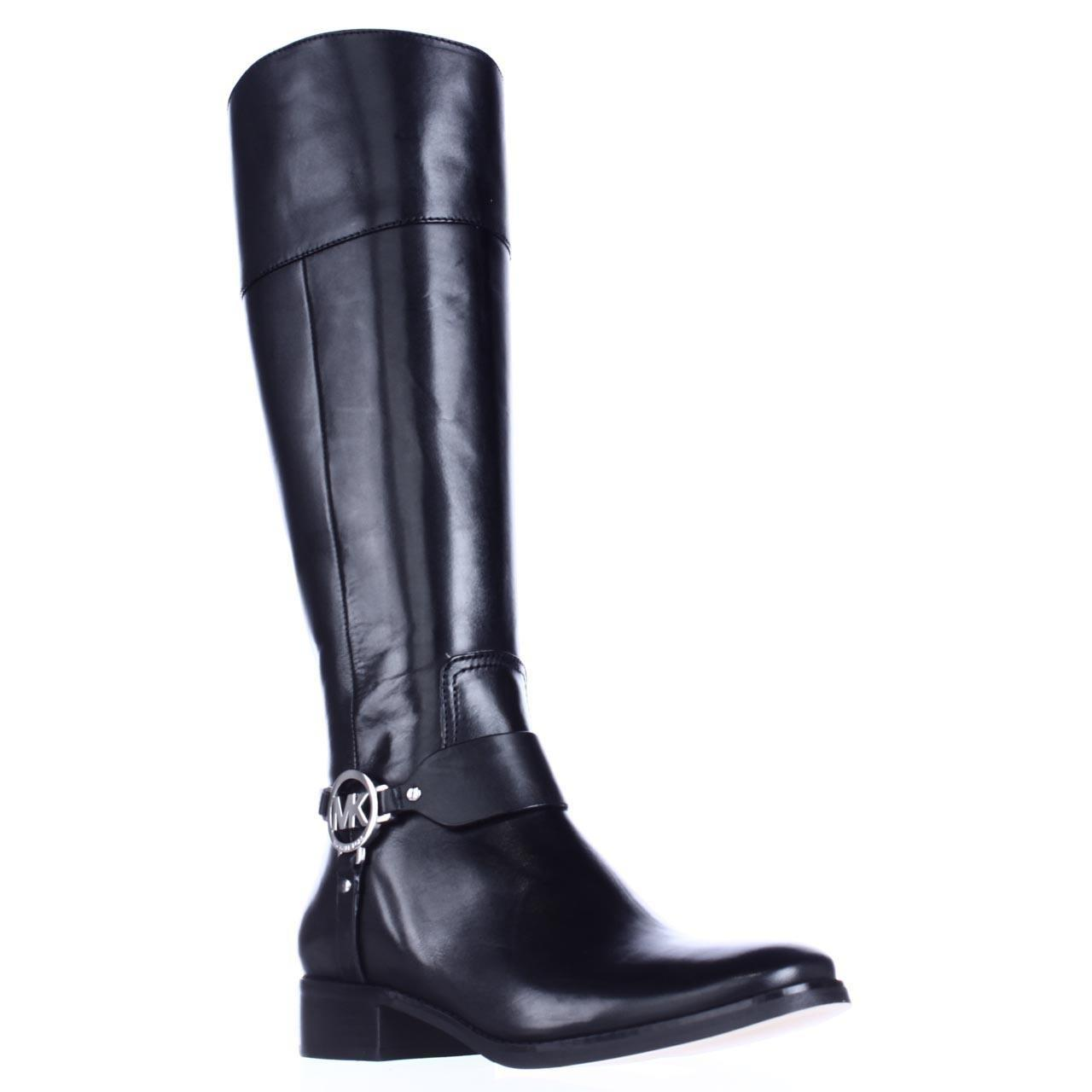 Lyst Michael Kors Michael Fulton Harness Riding Boots In