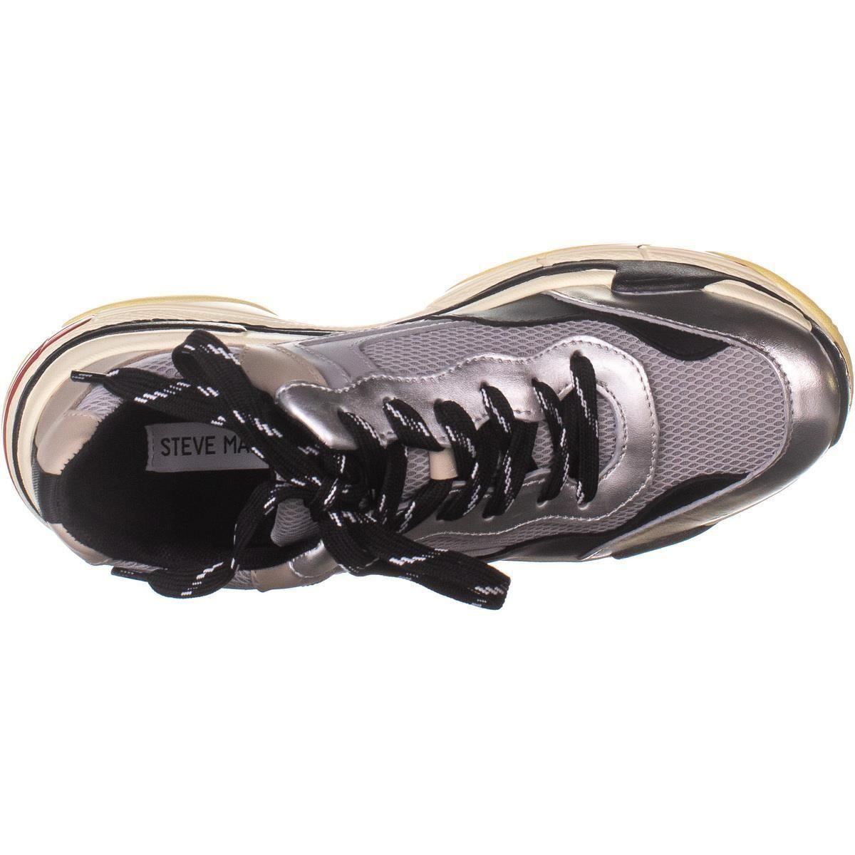 739cead1a7c Steve Madden Nassau Lace Up Sneakers in Gray - Lyst