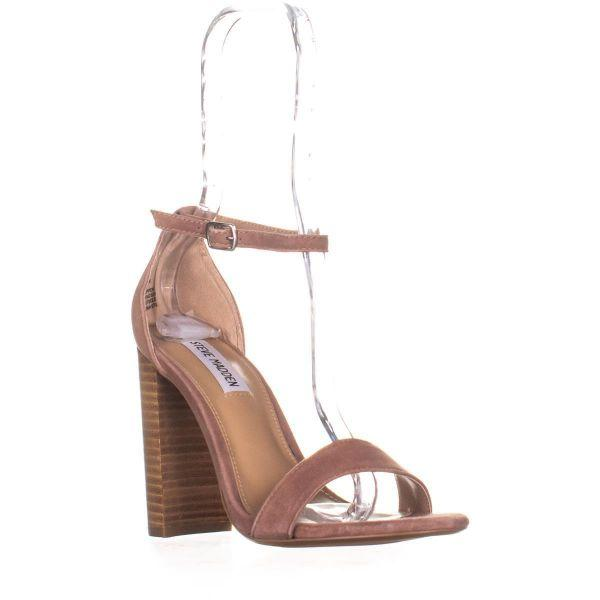 a6426e206d3 Lyst - Steve Madden Carrson Ankle Strap Dress Sandals in Brown