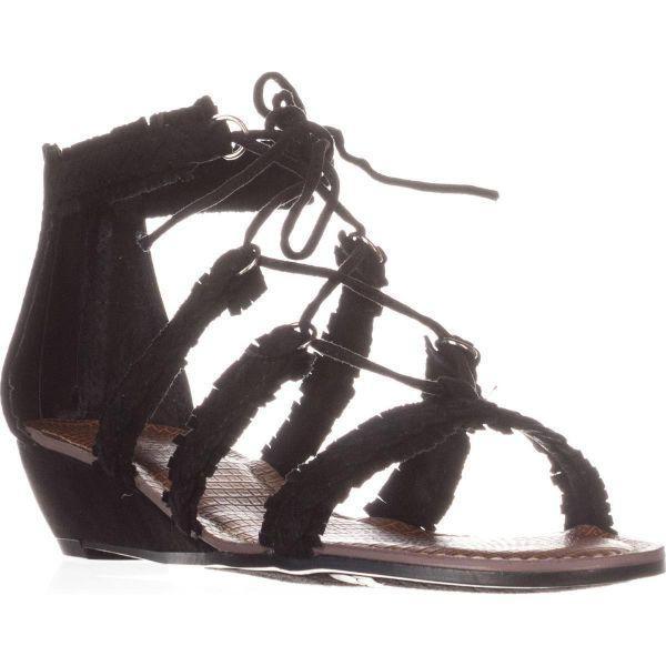 58c13cbc1d1a Lyst - Carlos By Carlos Santana Kenzie Flat Lace-up Sandals in Black ...