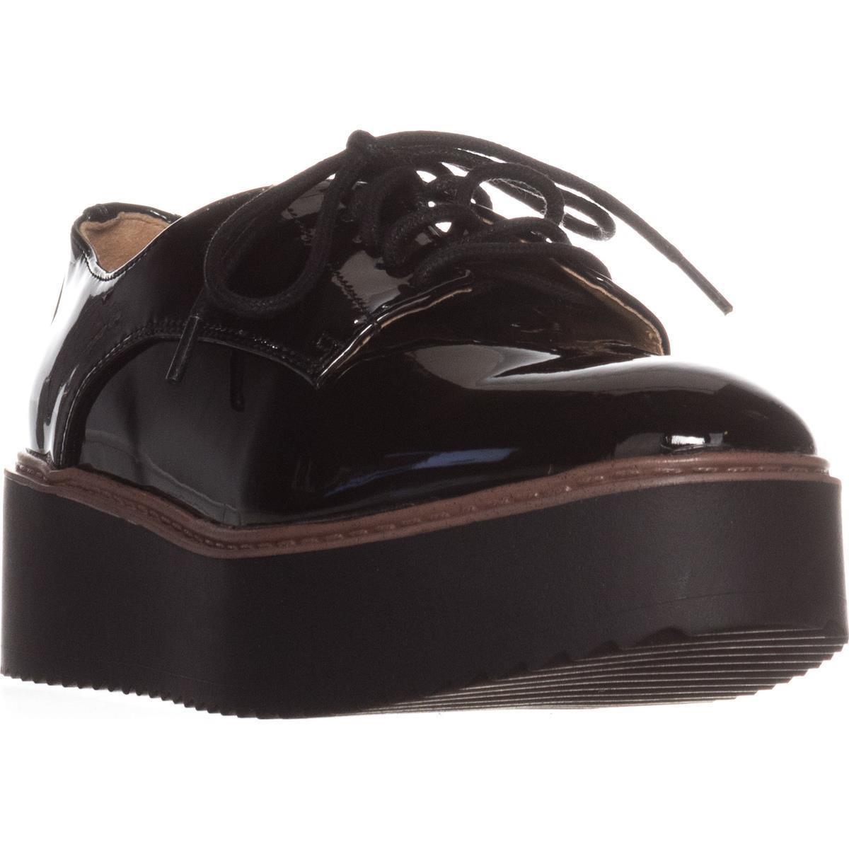 bd24c5640011 Lyst - Madden Girl Written Platform Oxfords in Black