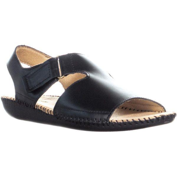 20292d431f34 Lyst - Naturalizer Scout Wedge Heel Sandals in Black