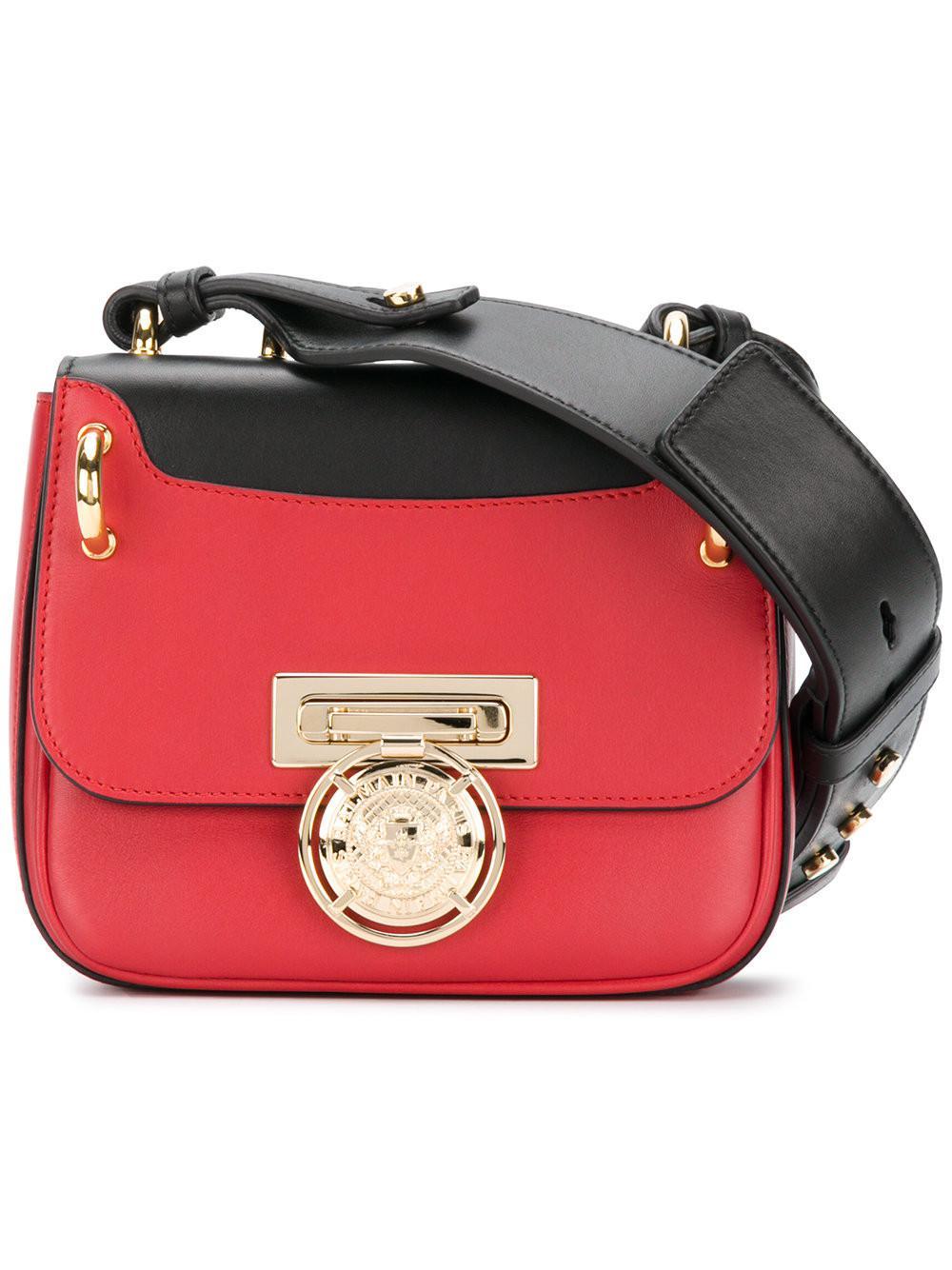 4e6f50381f Balmain Renaissance 18 Shoulder Bag in Red - Lyst