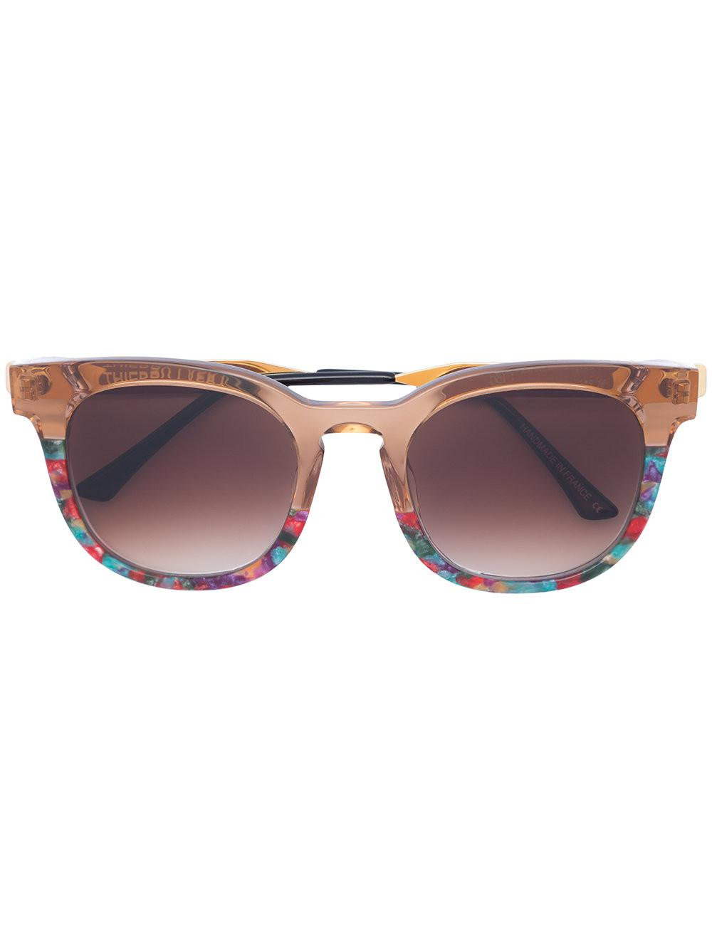 THIERRY LASRY Printed square sunglasses h9S1s6f
