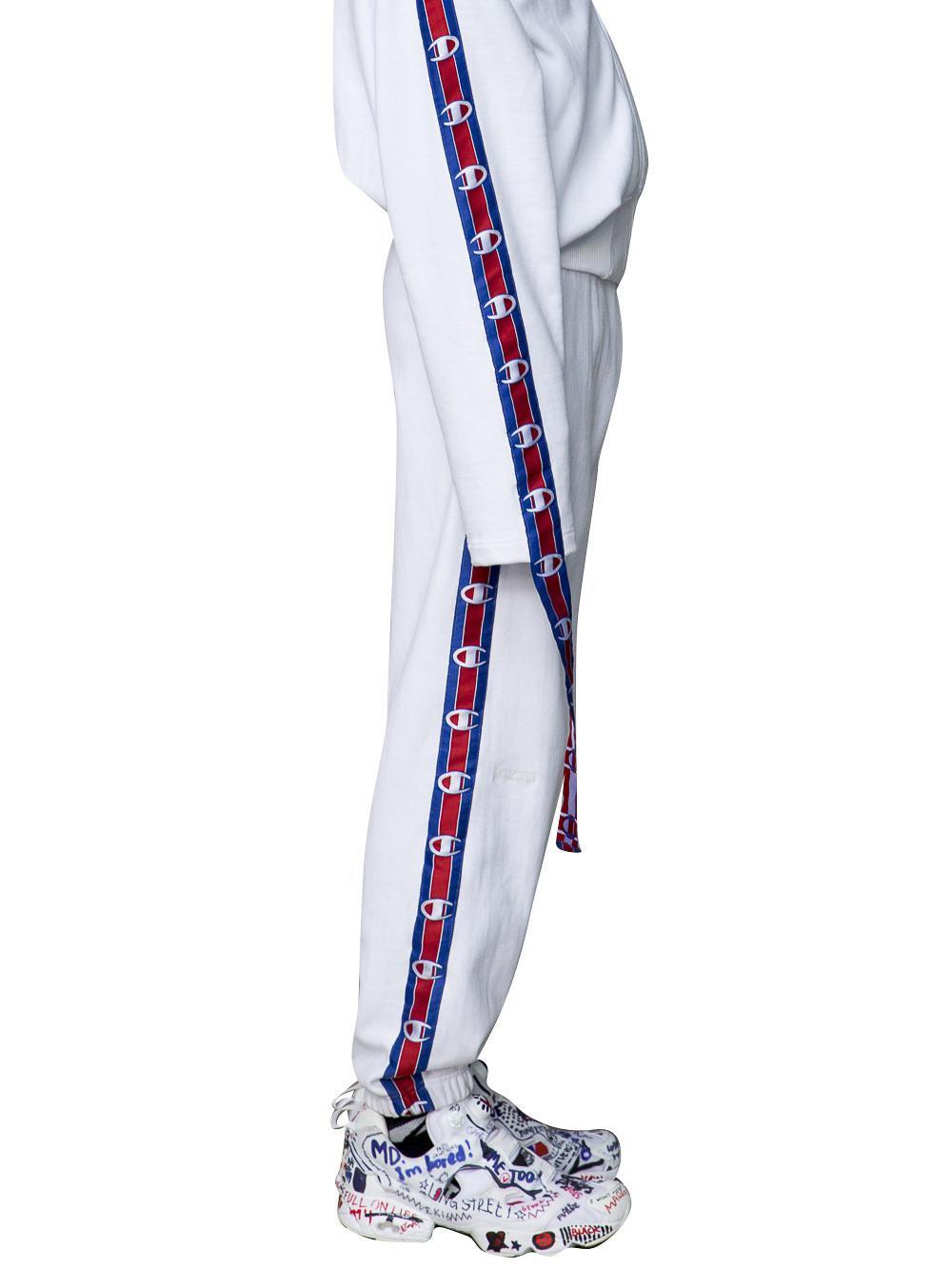f9df515f6 Vetements X Champion Track Pants for Men - Lyst