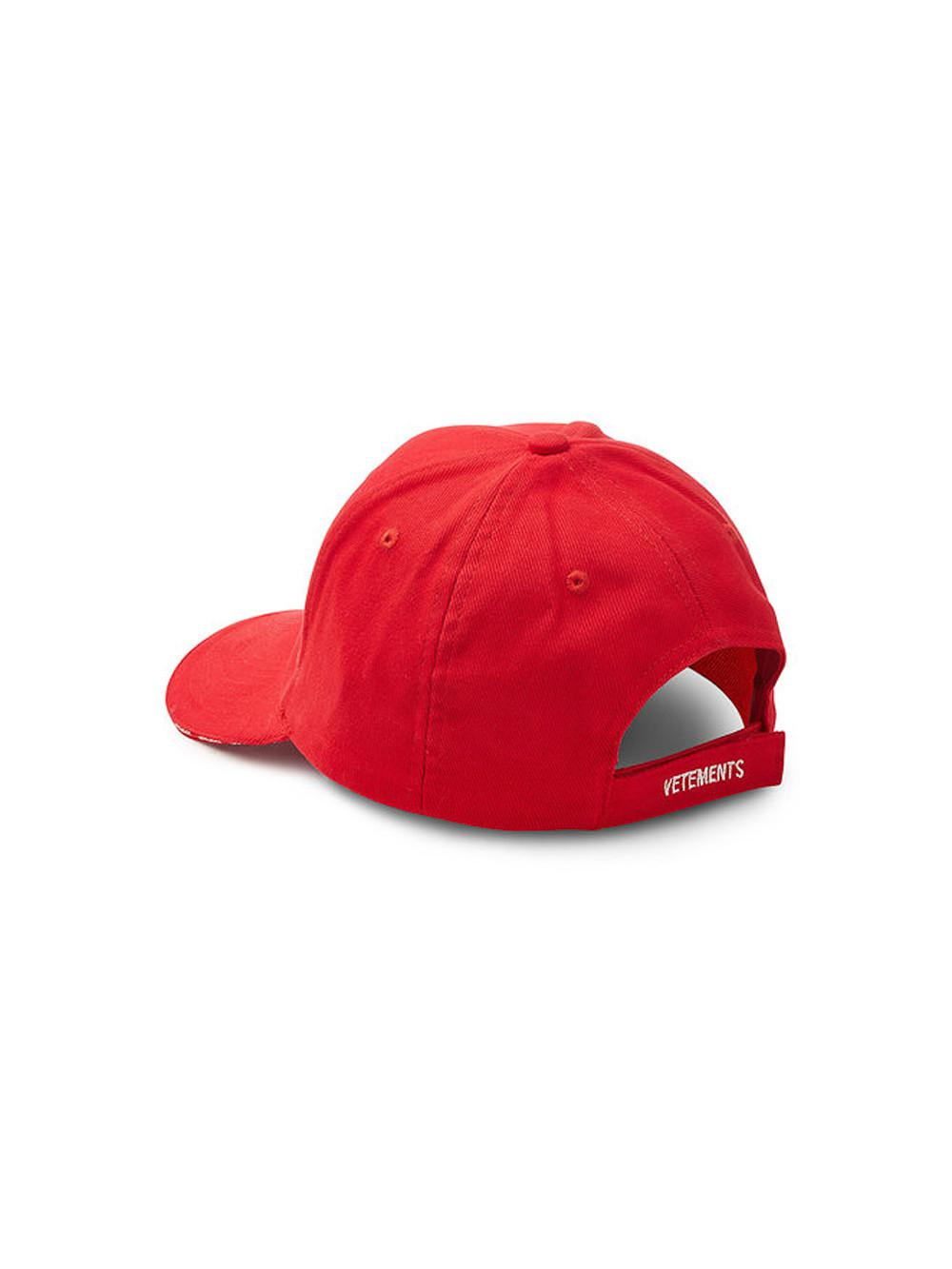 Vetements Haute Couture Cap in Red for Men - Save 63.55421686746988 ... 06f8ccdfece3