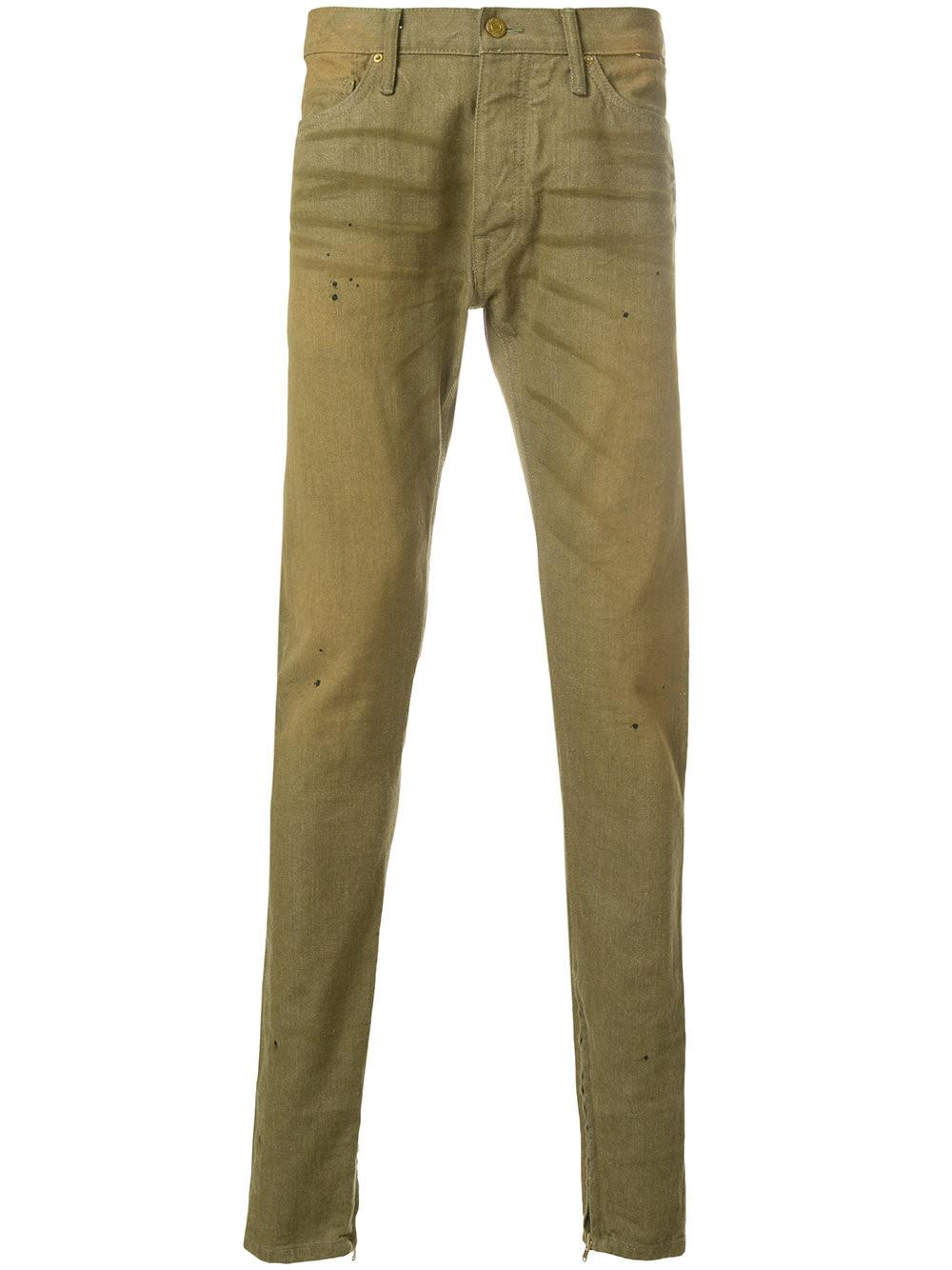 whisker detail trousers - Green Fear of God Discount Cheap Price 3WTXrxkm