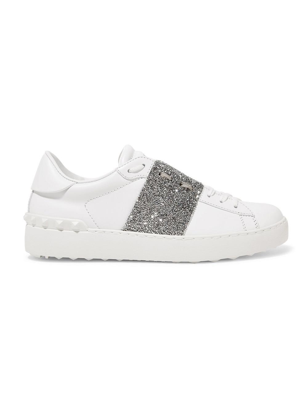 1052684f4f202 Valentino Garavani Open Sneakers in White - Save 53% - Lyst