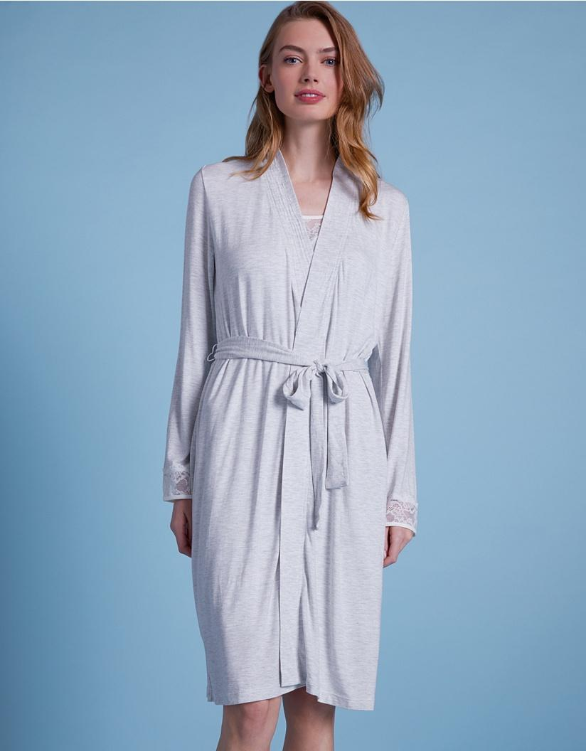 efd713ca9a22 The White Company Eyelash Lace Robe in Blue - Lyst