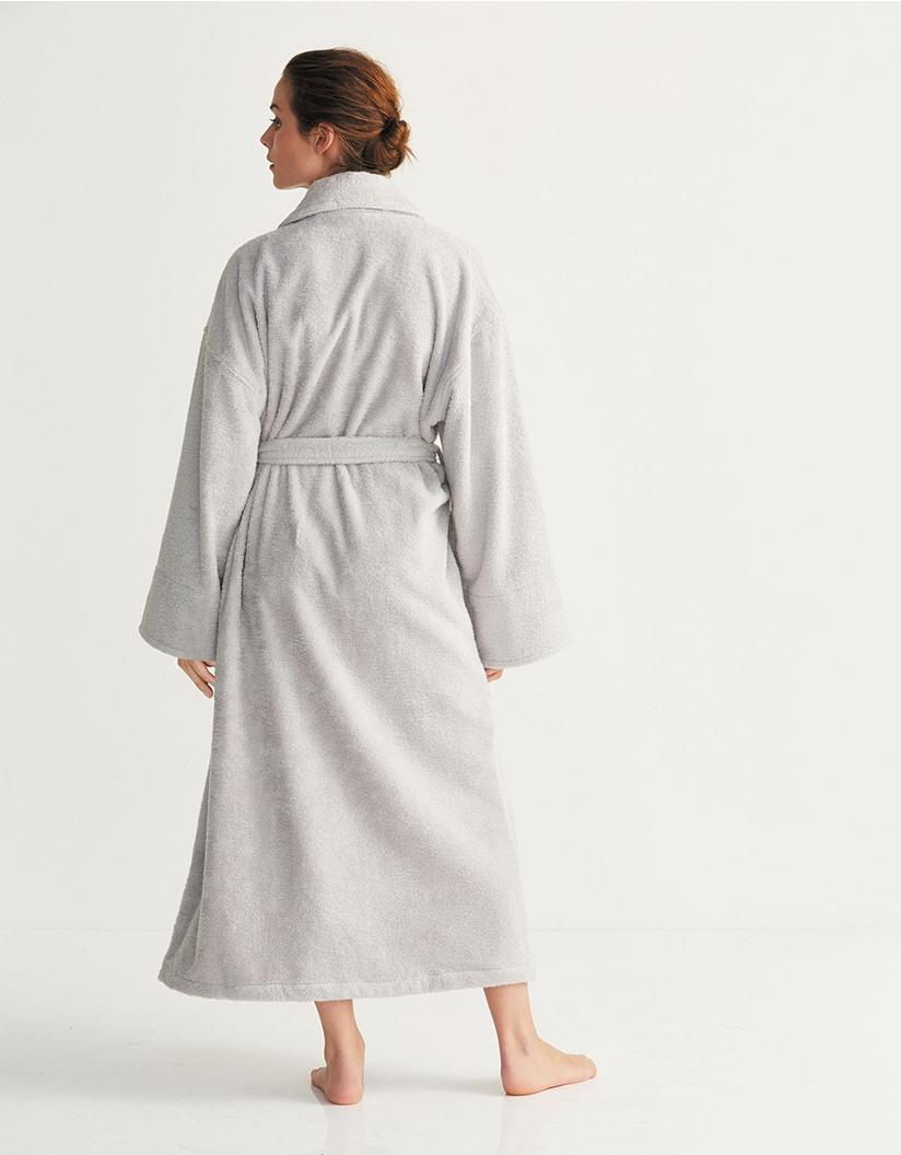 005825d84d The White Company Unisex Cotton Classic Robe in Gray - Lyst