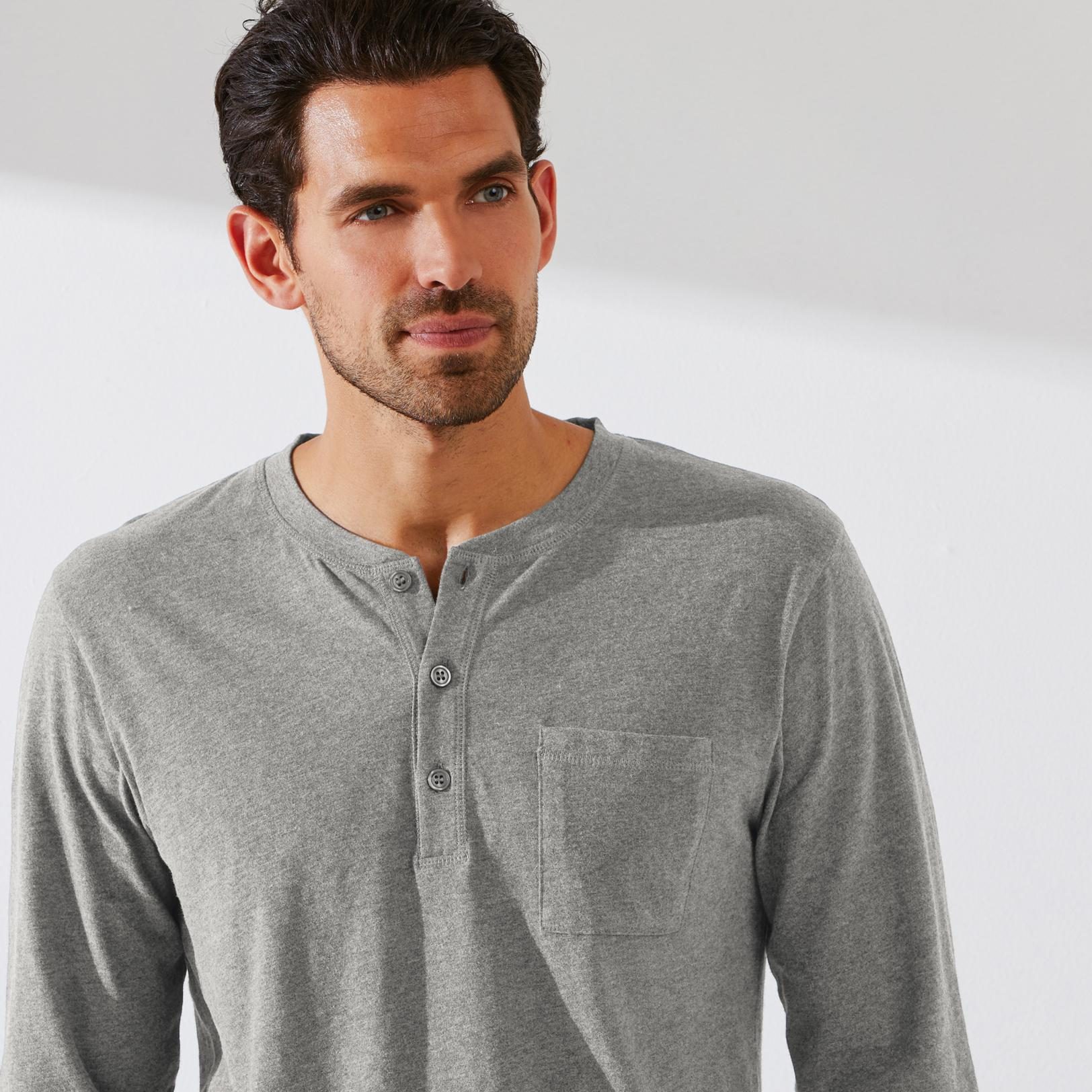 Jual Murah Popustores Ss Solid Shirt Abu Muda Xl Update 2018 L Hammer Henley Fashion T Pria Putih Daftar Harga Terkini Dan