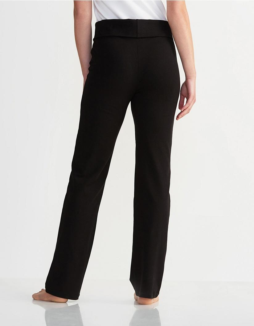 2c95052c9860c7 Lyst - The White Company Straight Leg Roll Top Pants in Black - Save 9%