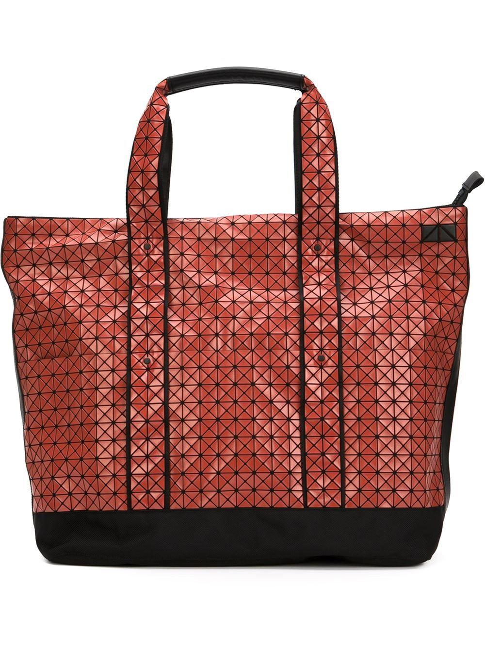 1e36cb8f4d7d ... Lyst - Bao Bao Issey Miyake Weekender Bag in Red best loved 97083 07125  ...
