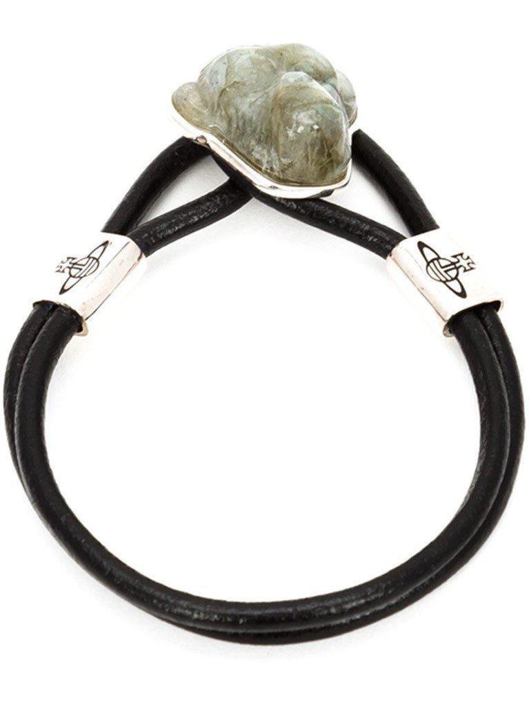 Vivienne Westwood. Women's Black Ryan Monkey Bracelet
