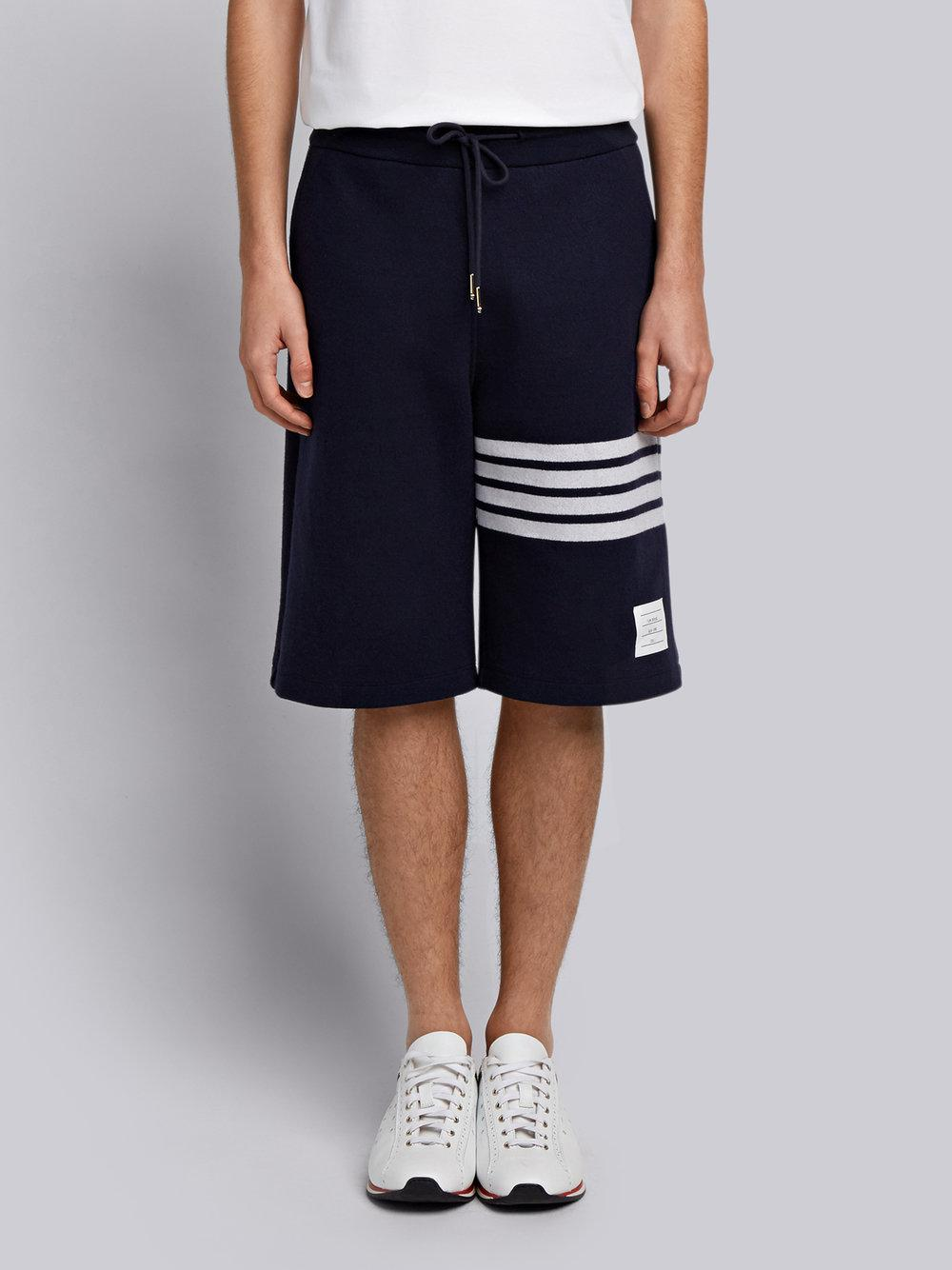 Engineered 4-Bar Stripe Cashmere Shell Sweat Shorts - Grey Thom Browne 6TYmpzgnaJ