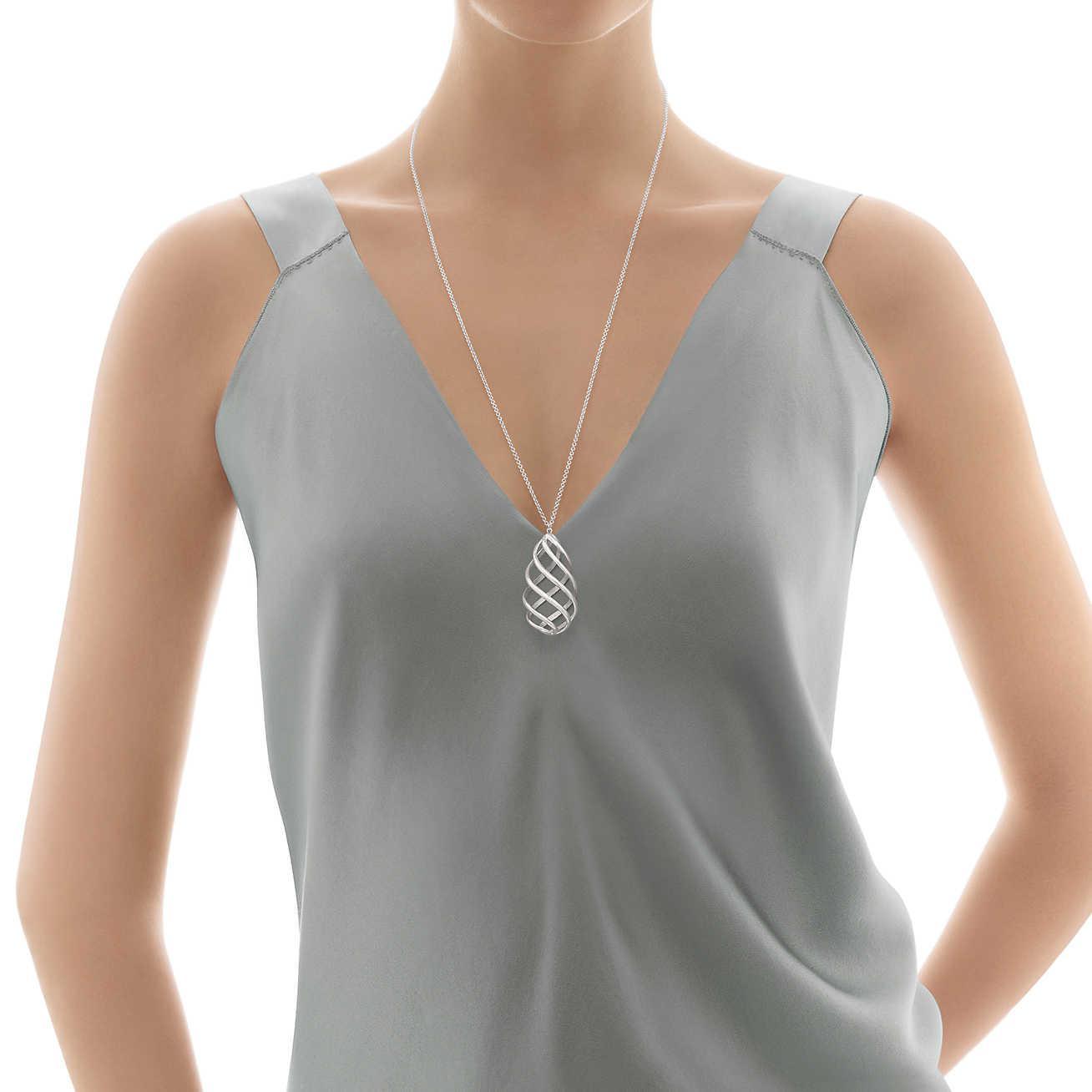 11ff2a5cc Tiffany & Co. Paloma's Venezia Luce Pendant In Sterling Silver ...