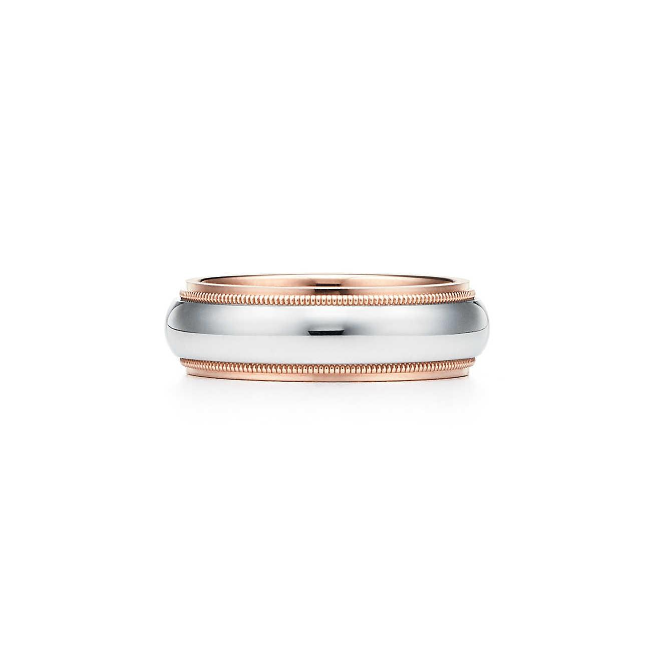 Tiffany Co Tiffany Classictm Milgrain Wedding Band Ring In
