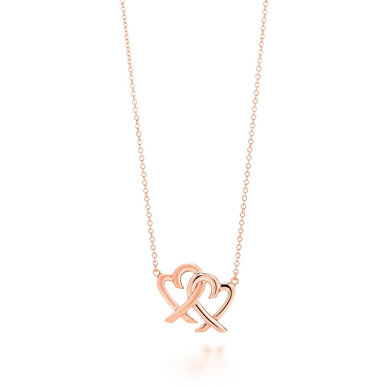 Tiffany co paloma loving heart pendant in gold small tiffany co paloma loving heart pendant in gold small mozeypictures Choice Image