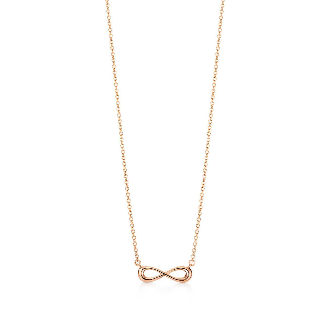 ec8d5268d Tiffany & Co. Tiffany Infinity Pendant In 18k Rose Gold, Mini in ...