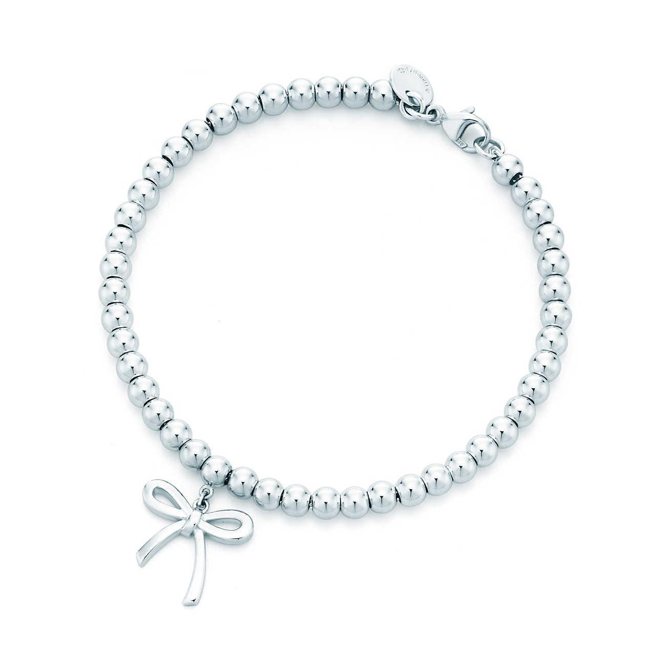 07a9b2c0c Gallery. Previously sold at: Tiffany & Co. Women's Beaded Bracelets Women's Charm  Bracelets