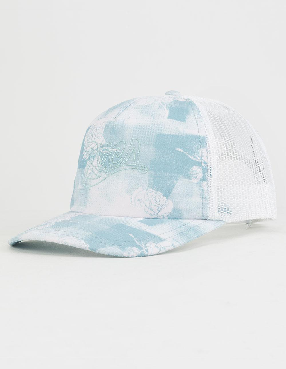 2b2ae8511ce9f ... authentic shop lyst rvca offbeat womens trucker hat in blue for men  b55ef 833f6 2b887 ab0e0 ...