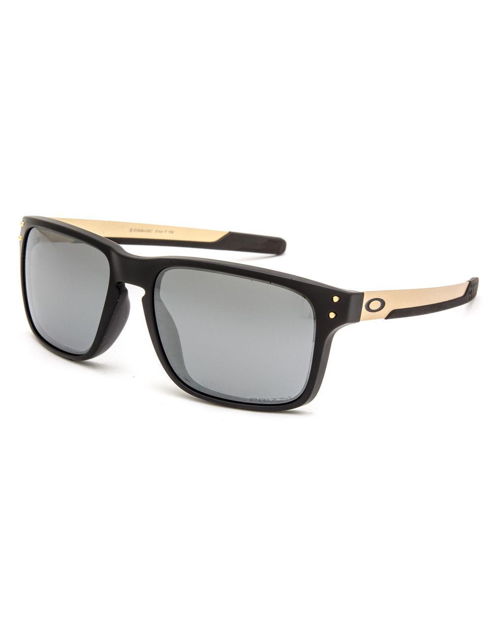 48141fdff4 Oakley. Men s Holbrook Mix Matte Black   Prizm Black Polarized Sunglasses