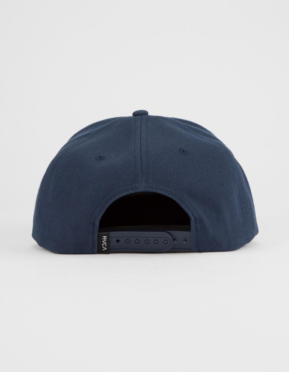 hot sales 6f66d 3cf6e ... good lyst rvca radius navy mens snapback hat in blue for men ab734 2f1ad