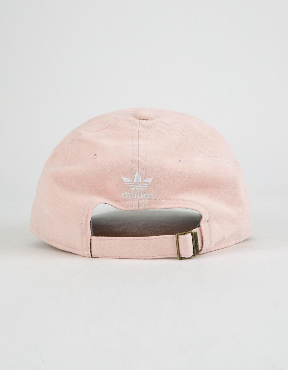 ba859db41ab Lyst - adidas Originals Relaxed Plus Blush Womens Strapback Hat in Pink