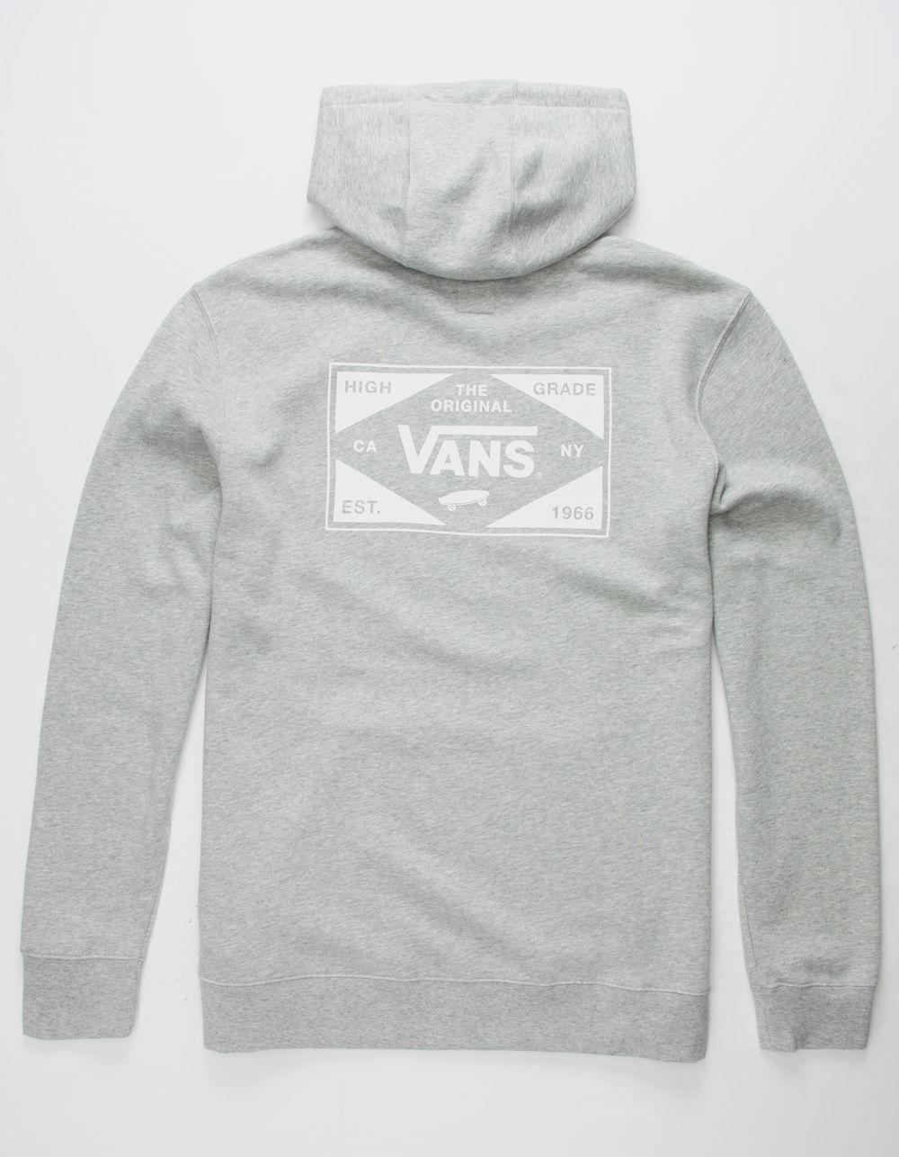 70b2c394 Vans Best In Class Mens Hoodie in Gray for Men - Lyst