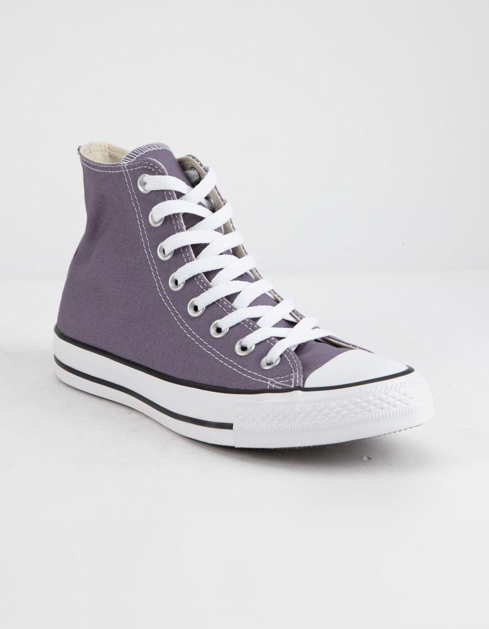 478e3e40523 Lyst - Converse Chuck Taylor All Star Moody Purple High Top Womens ...