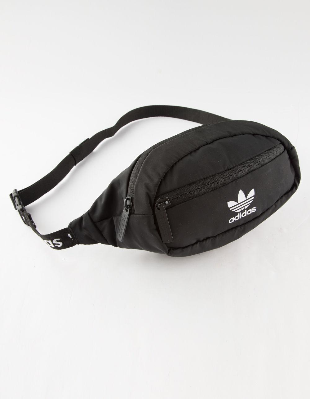 Adidas - Originals Black   White Fanny Pack for Men - Lyst. View fullscreen 98a317c20c429