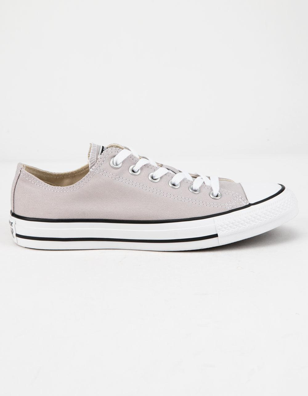 9f3207552d46df Converse. White Chuck Taylor All Star Violet Ash Low Top Womens Shoes