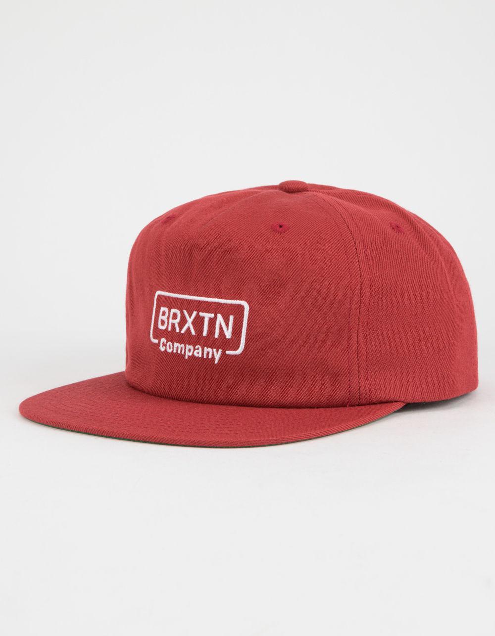 6c92b1701d7 Lyst - Brixton Crosswhite Mens Snapback Hat in Red for Men