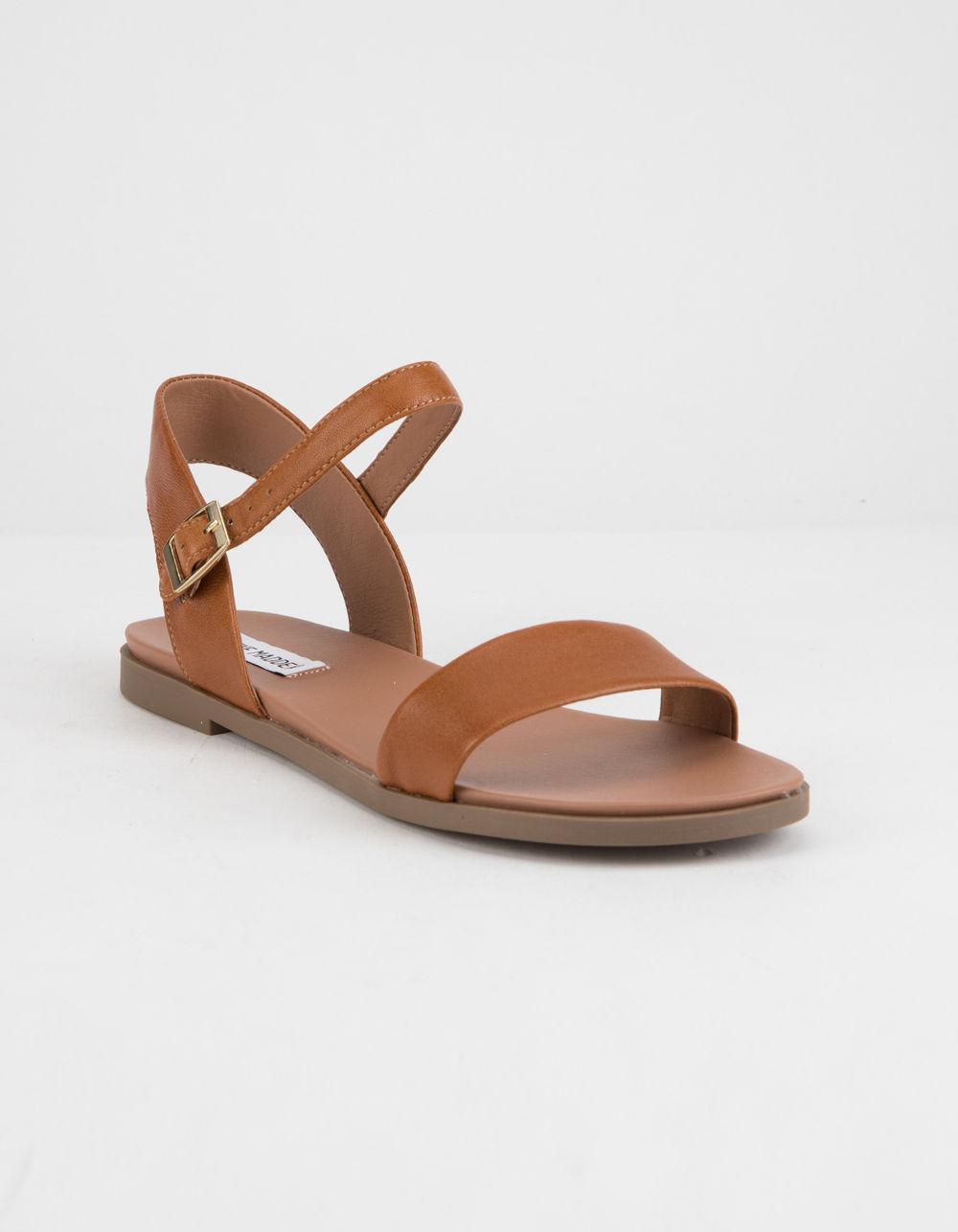 0ede6f26629 Lyst - Steve Madden Dina Tan Womens Sandals in Brown