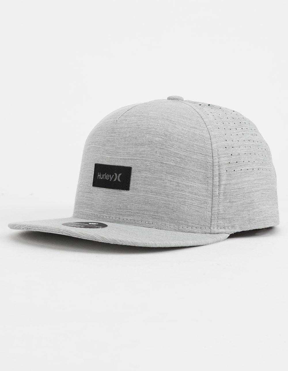 5b7b3f6eaa80c Hurley Dri-fit Staple Gray Mens Snapback Hat in Gray for Men - Lyst