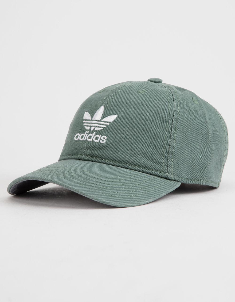 Adidas - Originals Relaxed Green Womens Strapback Hat - Lyst. View  fullscreen 28f447d017b