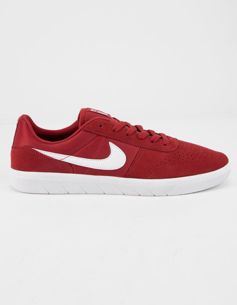 promo code ab7a3 4b3eb Nike - Red Sb Team Classic Crimson   White Mens Shoes for Men - Lyst. View  fullscreen