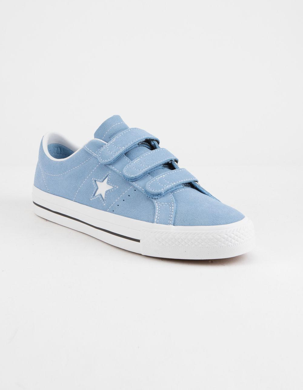 Lyst - Converse One Star Pro 3v Ox Light Blue   White Shoes in Blue for Men 845f66465