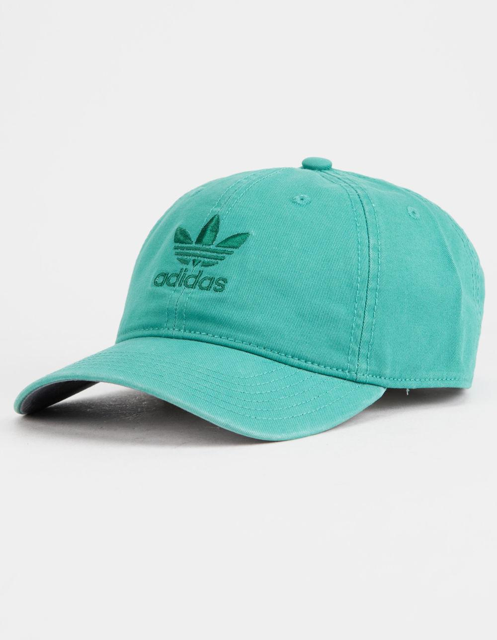 627de2c44b2 Adidas - Originals Relaxed True Green Mens Strapback Hat for Men - Lyst.  View fullscreen