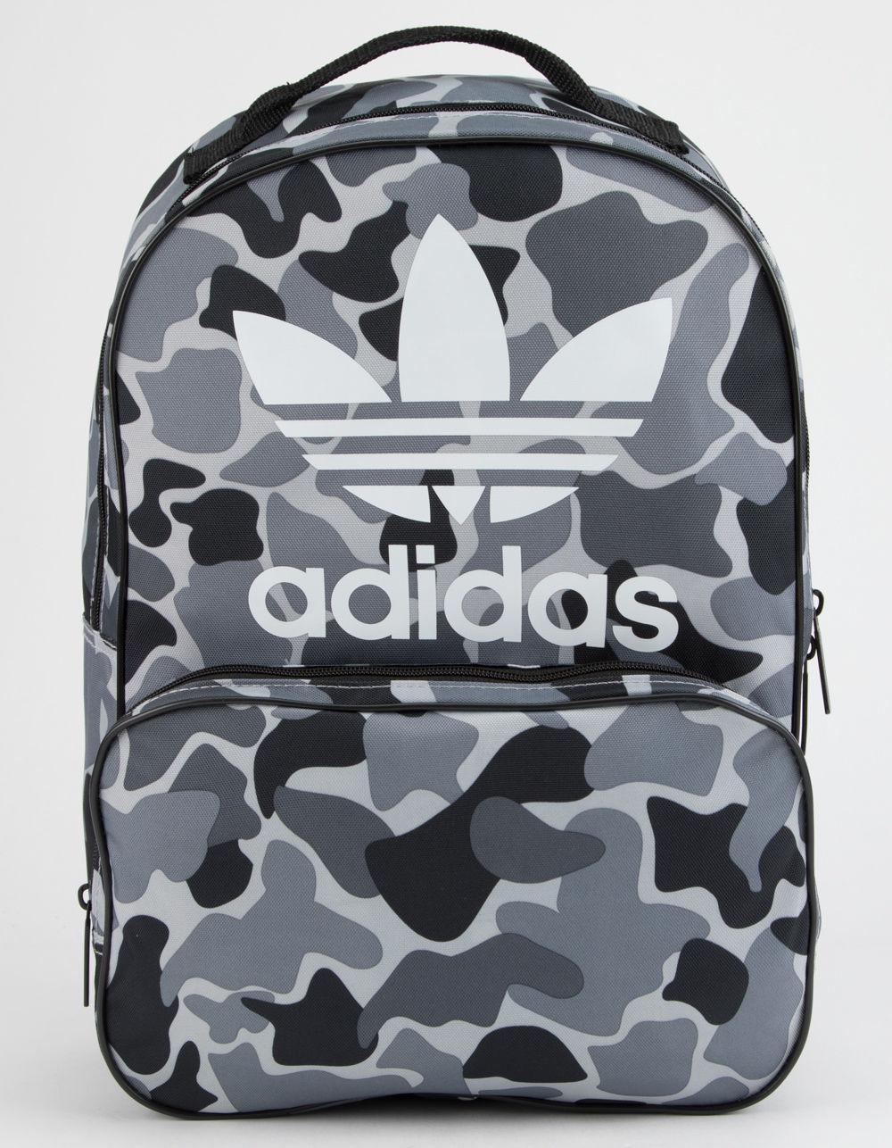 08a3ed142f49 Lyst - adidas Originals Santiago Black Camo Backpack in Black for Men
