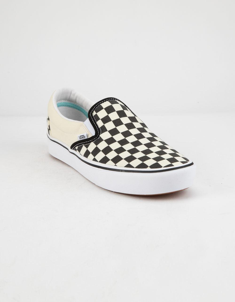 2759ac4fa9c7 Lyst - Vans Comfycush Checkerboard Classic Slip-on Shoes - Save 23%