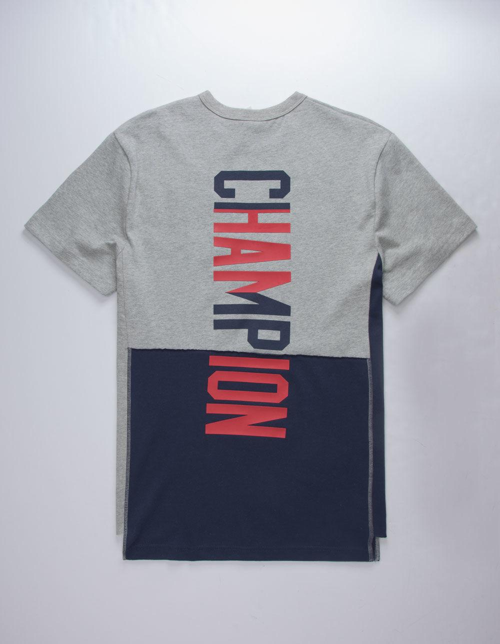 6e7afa403d44 Lyst - Champion Heritage Shift Mens Pocket Tee in Gray for Men