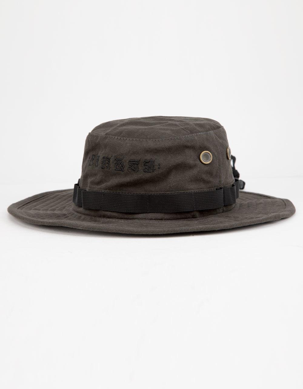 58d96d47c38 Lyst - Hurley Cryptik Mana Mens Bucket Hat in Black for Men