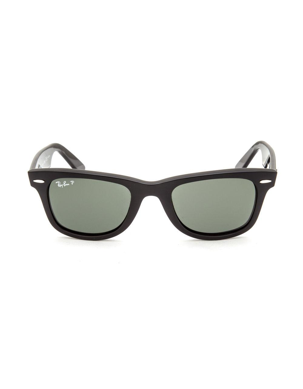 5d8c908f77 Lyst - Ray-Ban Original Wayfarer Classic Polarized Sunglasses in Black for  Men