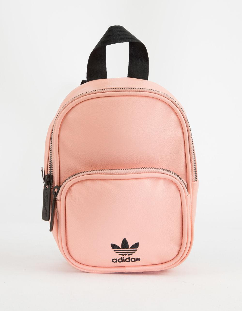 15c7d8039b9d Adidas - Originals Faux Leather Pink Mini Backpack - Lyst. View fullscreen