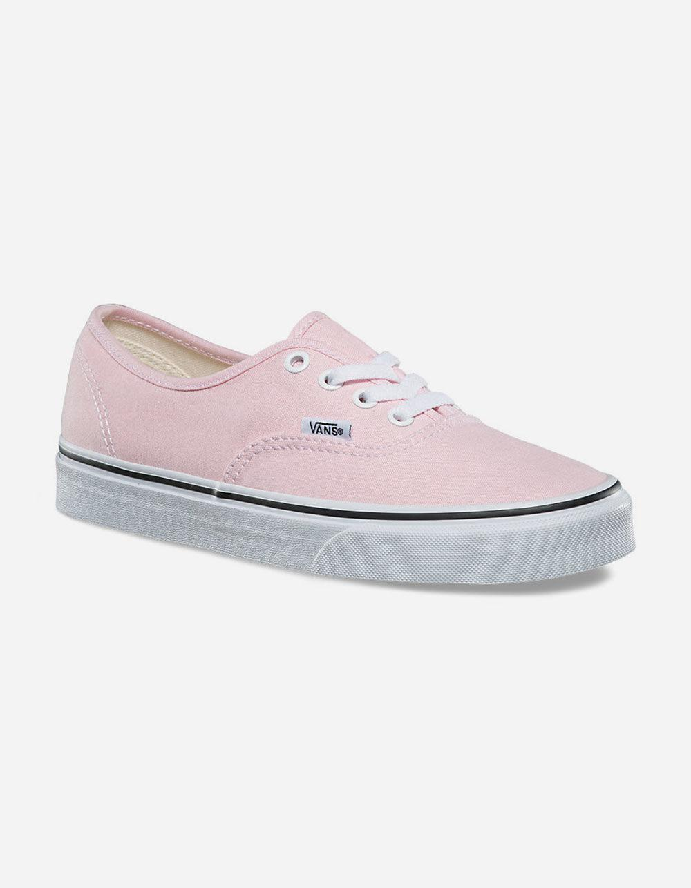 c079517fd71cec Lyst - Vans Authentic Chalk Pink   True White Womens Shoes