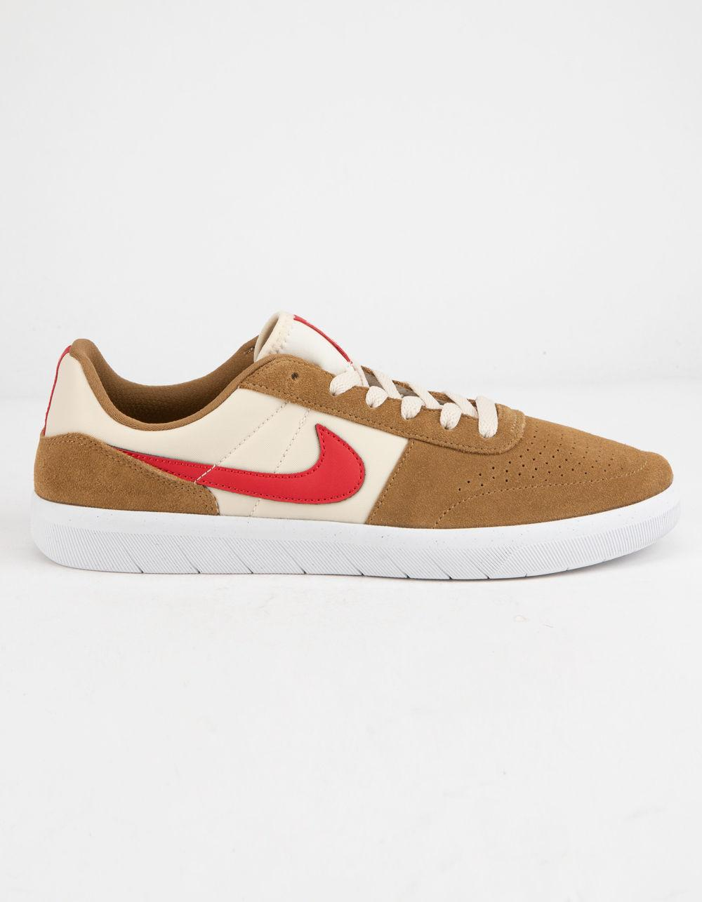 45f1f73d Lyst - Nike Team Classic Golden Beige & University Red Mens Shoes ...