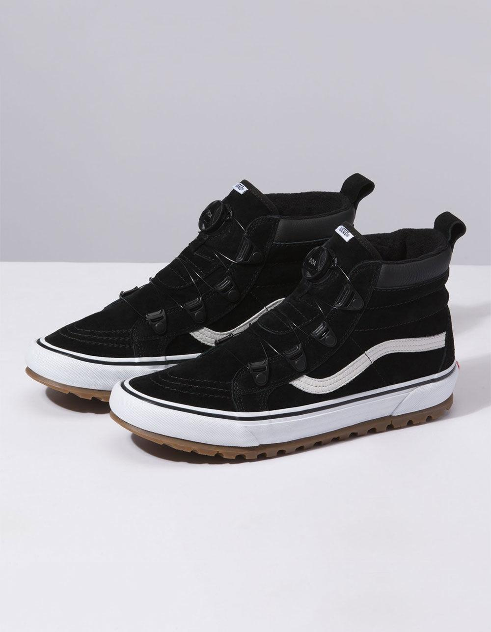 Lyst - Vans Sk8-hi Mte Boa Black   True White Shoes in Black for Men e941c4cee