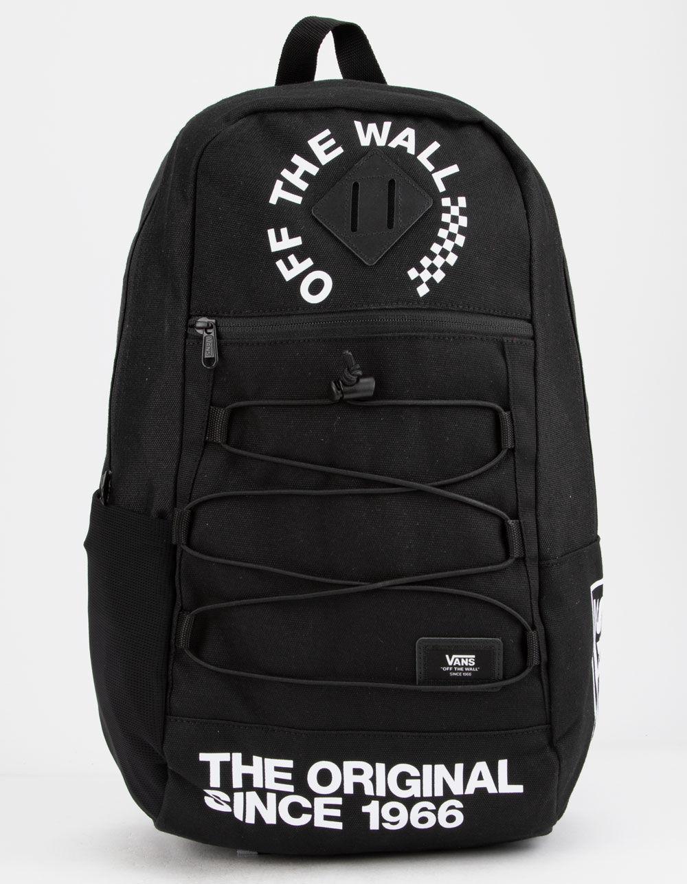 ea799fc0613 Lyst - Vans Snag Black   White Backpack in Black for Men